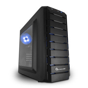 PC Specialist Vanquish Carbon Pro 1060 Gaming PC