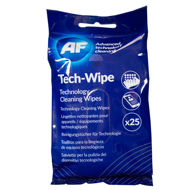 AF Tech Wipes (Pack of 25)