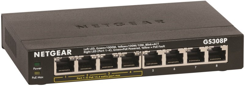 NETGEAR SOHO Gigabit Ethernet Switch GS308P unmanaged Switch