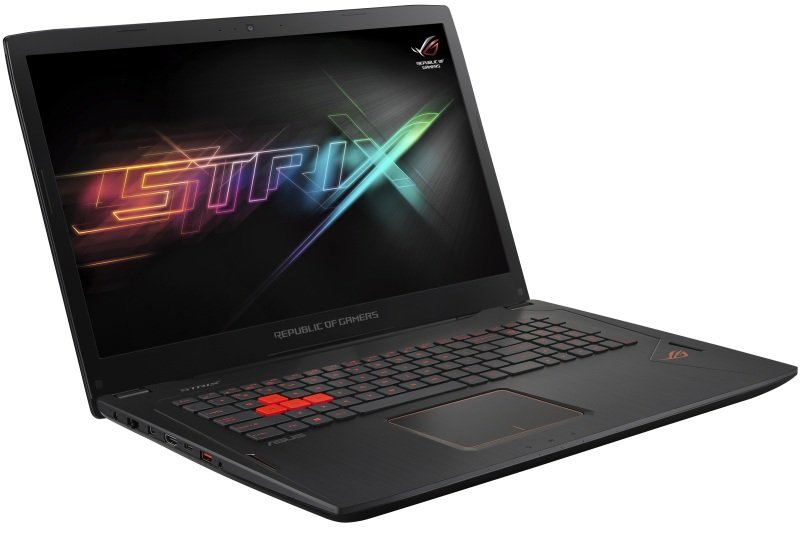 "ASUS ROG Strix GL702VS BA256T Intel Core i7, NVIDIA GeForce GTX 1070, 17.3"", 16GB RAM, 2TB HDD and 256GB SSD, Windows 10, Notebook - Silver"