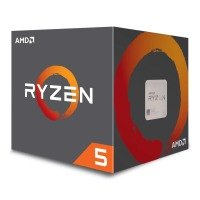 AMD Ryzen 5 2600X AM4 Processor with Wraith Spire Cooler