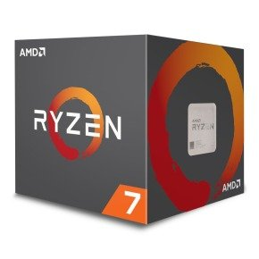 AMD Ryzen 7  2700 AM4 Processor with LED Wraith Spire Cooler...