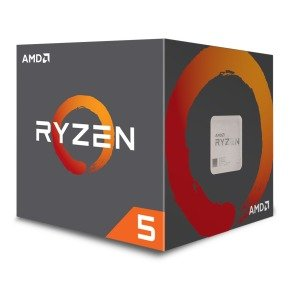 AMD Ryzen 5 2600 AM4 Processor with Wraith Stealth Cooler...