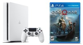 Sony 500GB White PS4 with God of War