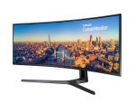 "Samsung CJ89 49"" QLED 144Hz USB-C HDMI UltraWide Curved Monitor"