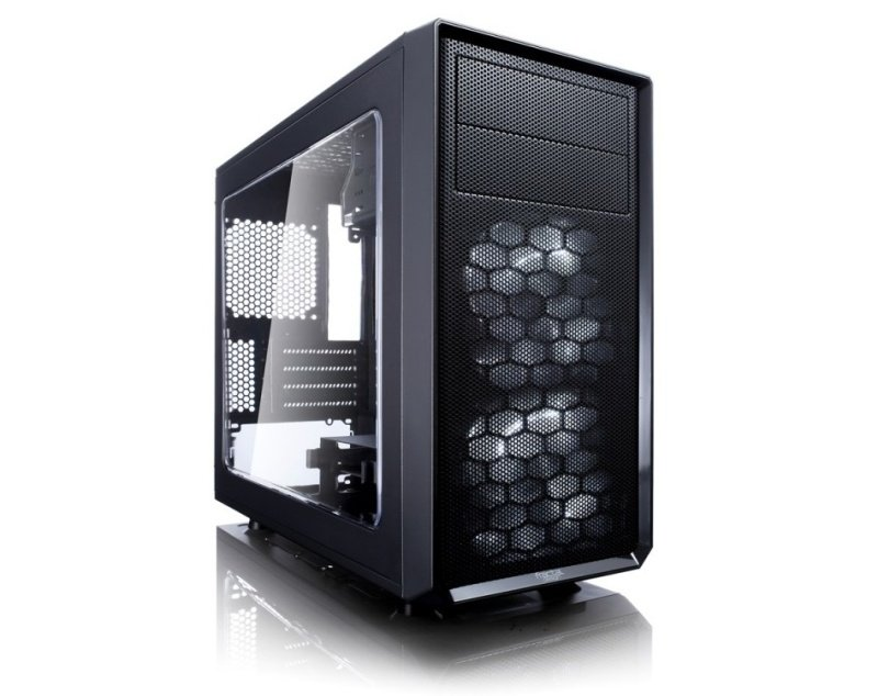 EXDISPLAY Fractal Design Focus G Mini Black Window