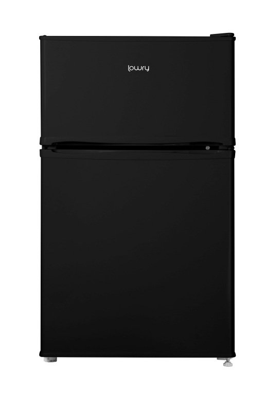 Lowry LUCFF50B Black 50cm Wide Under Counter Freestanding Fridge Freezer