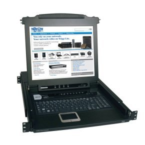 NetDirector 8-Port 1U Rack-Mount Console KVM Switch with 17-in. LCD