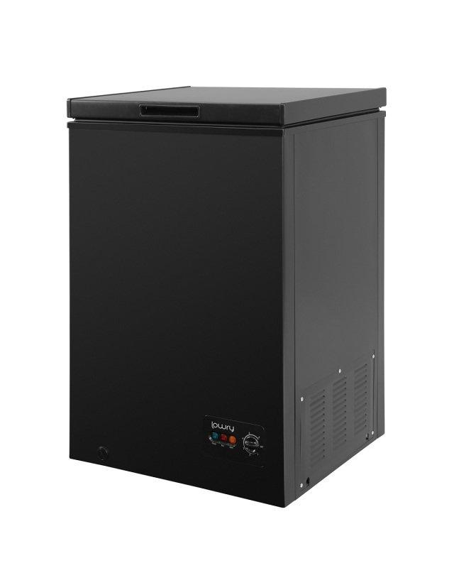lowry lcf99b black 99 litre chest freezer freezers at ebuyer. Black Bedroom Furniture Sets. Home Design Ideas