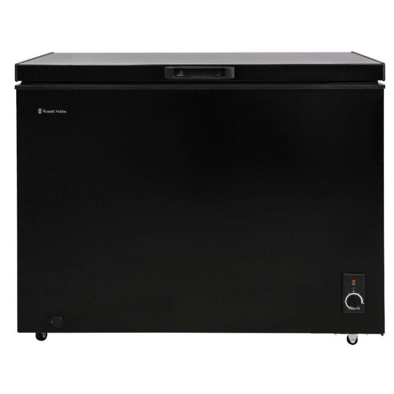 russell hobbs 292 litre chest freezer black freezers. Black Bedroom Furniture Sets. Home Design Ideas
