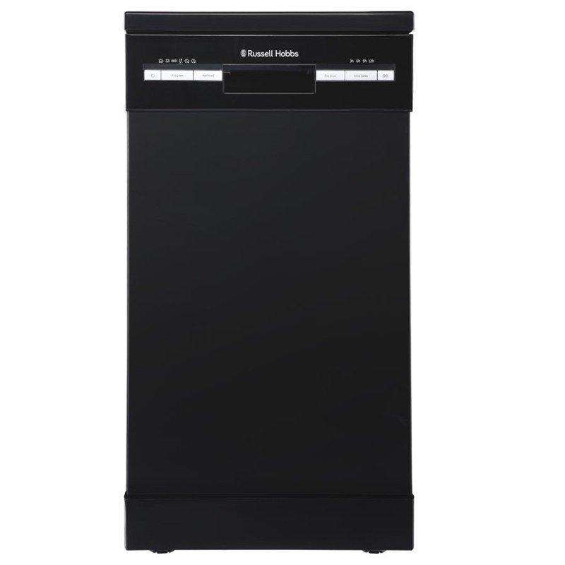 Russell Hobbs RHSLDW4B Black Slimline Freestanding Dishwasher