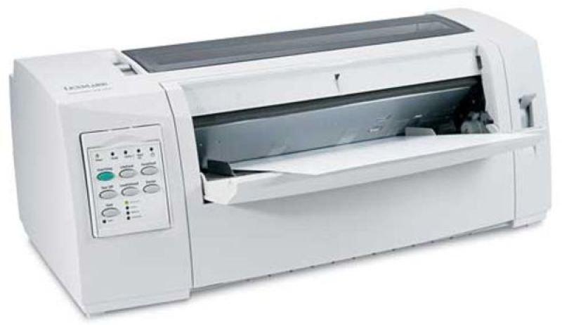 EXDISPLAY Lexmark Forms 2580n+ Mono Dot-matrix Printer