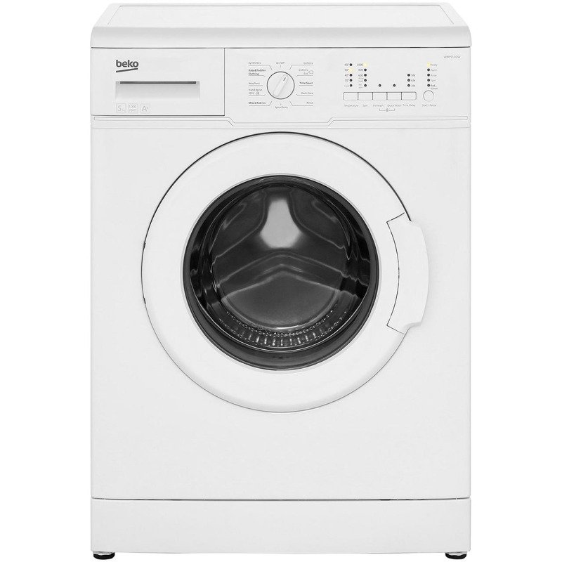 Beko Freestanding 5kg 1000rpm Washing Machine Wm5102 Washing