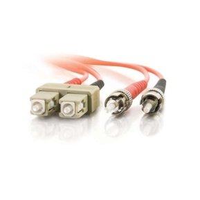 C2G 15M Multimode PVC Fibre Optic Cable Orange
