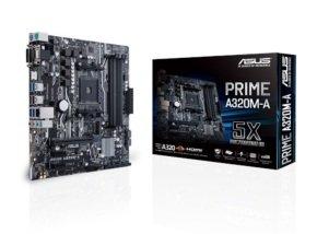 Asus PRIME A320M-A AM4 DDR4 mATX Motherboard