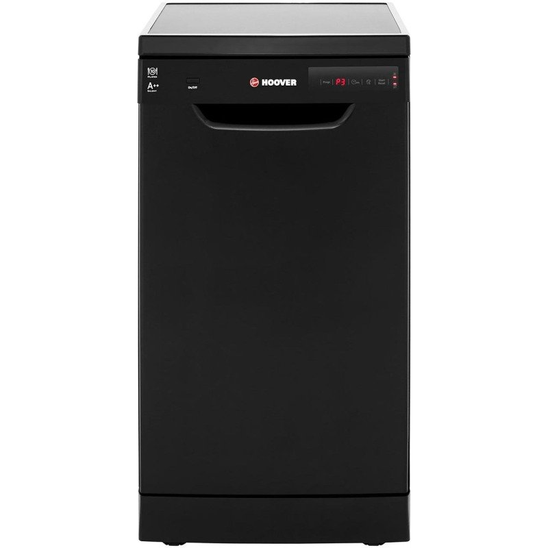 Hoover Freestanding Dishwasher Slimline - Black