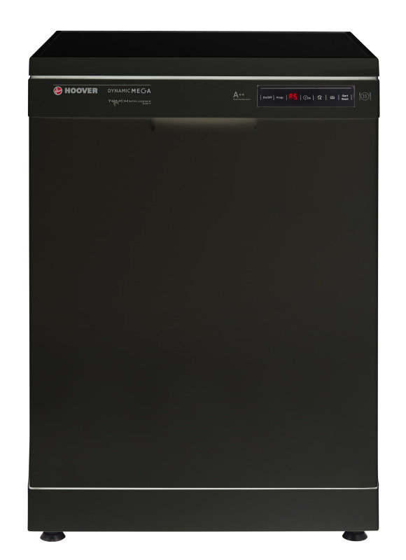 Hoover Freestanding Dishwasher 16 Place Setting  Black