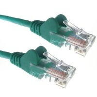 Cat 5e 5m Green Network Cable