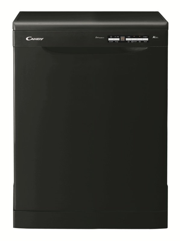 Candy Freestanding Dishwasher - 15 Place Setting Black