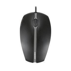 Cherry Gentix Silent Corded Mouse Black