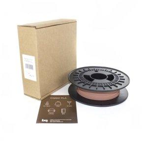 BQ PLA 1.75mm Copper Filament 750g