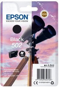 Epson 502 Black Ink Cartridge