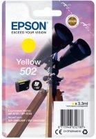 Epson 502 Yellow Ink Cartridge