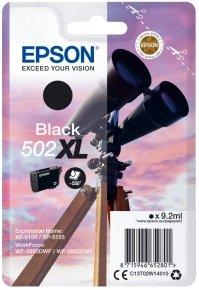 Epson 502XL Black High Yield Ink Cartridges
