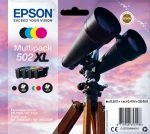 Epson 502XL Multipack 4-Colours Ink Cartridges