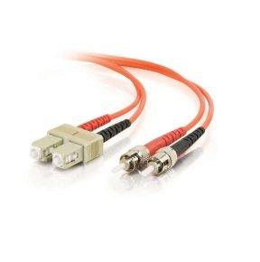 C2G 15M 62.5/125 Fibre Optic LSZH Cable Orange