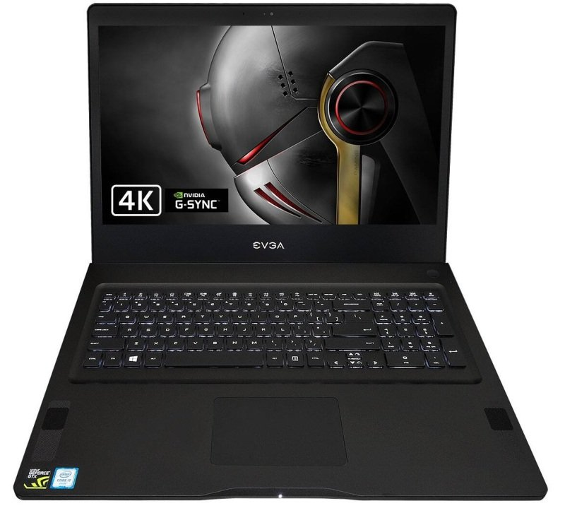"EVGA SC17 4K 1070 Gaming Laptop, Intel Core i7-6820HK 2.7GHz, 16GB DDR4, 1TB HDD, 256GB SSD, 17.3"" 4K UHD (3840x2160), No-DVD, NVIDIA GTX 1070 8GB, WIFI, Windows 10 Home"