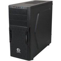 Thermaltake Versa H22 Midi Mesh Tower Case Toolless USB3 Black Interior12cm Fan