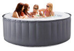 MSPA Silver Cloud Inflatable Hot Tub with Controller