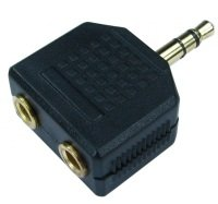 Cables Direct Stereo Splitter Adaptor