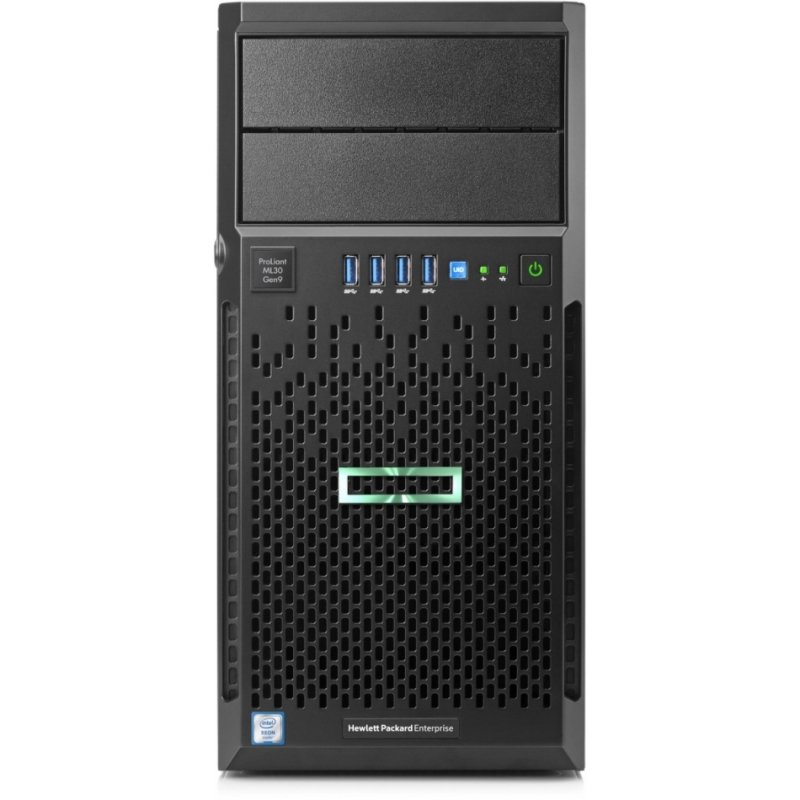 HPE ProLiant ML30 Gen9 Xeon E3-1220V6 3 GHz 8GB RAM Tower Server