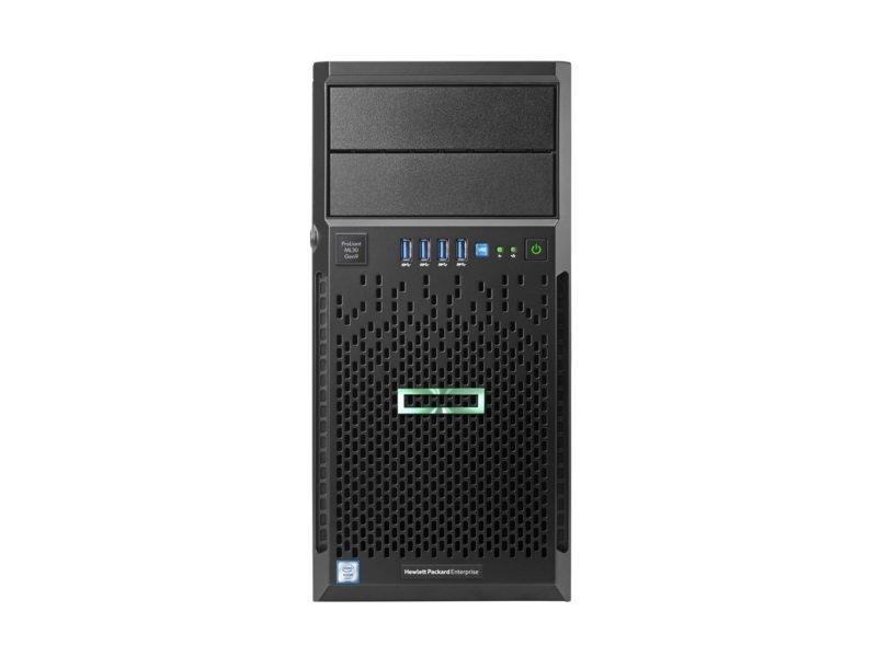 HPE ProLiant ML30 Gen9 Xeon E3-1240V6 3.7 GHz 16GB RAM 4U Tower Server