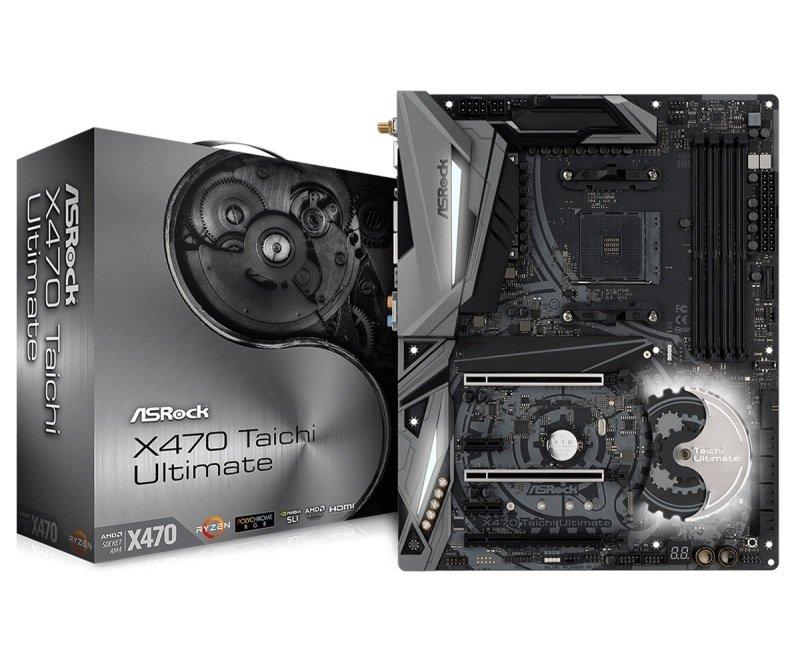 ASRock X470 Taichi Ultimate AM4 DDR4 ATX Motherboard