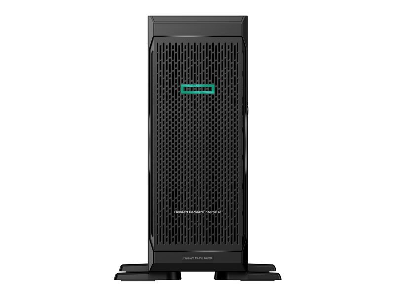 HPE ProLiant ML350 Gen10 Sub-Entry Xeon Bronze 3104 1.7 GHz 8GB RAM 4U Tower Server