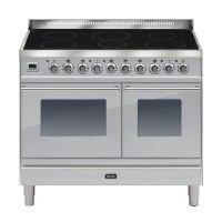 ILVE Roma All Electric 100cm Twin 6 Zone Induction S/Steel