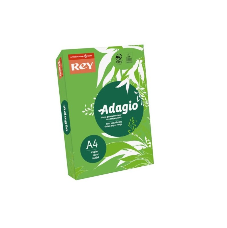 Adagio A4 80gsm Deep Green 500 Sheets