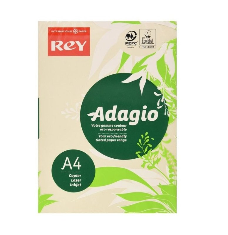 Adagio A4 80gsm Ivory 500 Sheets