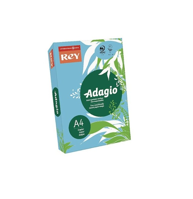 Image of Rey Adagio A4 160gsm Blue 250 Sheets