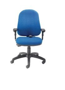 Cappela Intro Posture Blue Chair