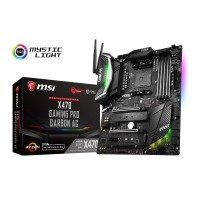 EXDISPLAY MSI X470 GAMING PRO CARBON AC AM4 DDR4 ATX Motherboard