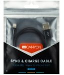 Canyon Lightning USB Cable 1M Black