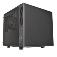 EXDISPLAY Thermaltake SUPPRESSOR F1 Mini ITX Cube Chassis Liquid Cooling Computer Case CA-1E6-00S1WN-00