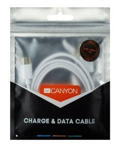 Canyon Type C to USB 2.0 White 1M Cable
