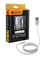 Canyon Ultra Compact Apple Certified Lightning Cable 1M White