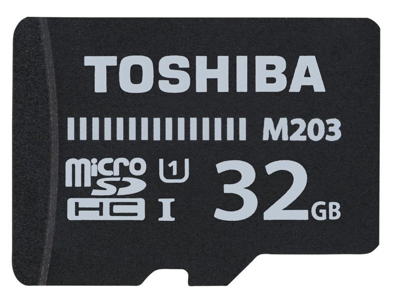 Toshiba 32GB M203 Class 10 MicroSD Card