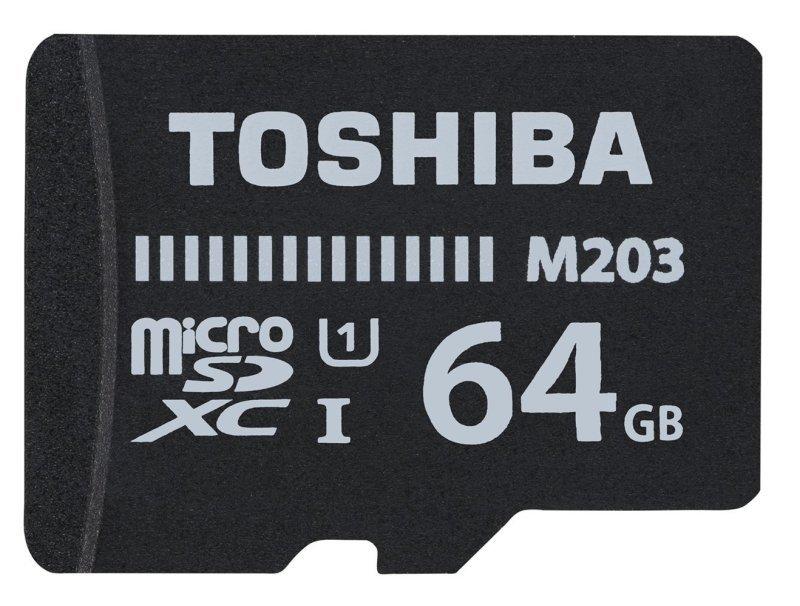 Toshiba 64GB M203 Class 10 MicroSD Card
